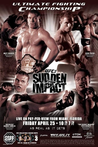 Poster of UFC 42: Sudden Impact