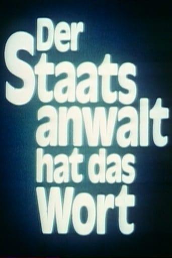 Poster of Der Staatsanwalt hat das Wort
