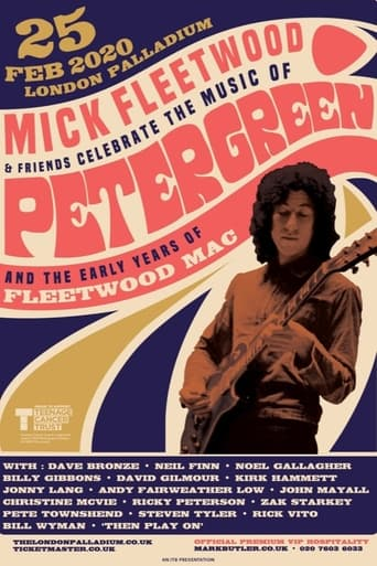 Poster of Mick Fleetwood and Friends Celebrate the Music of Peter Green