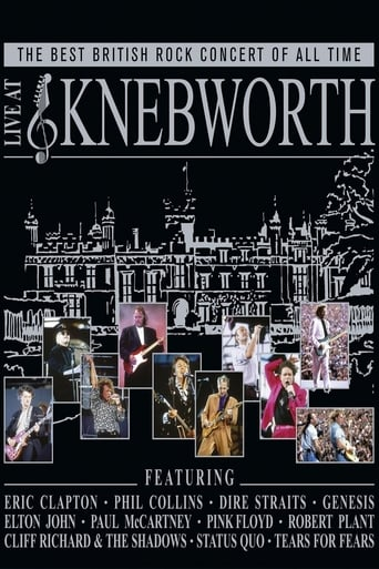 Poster of The Best British Rock Concert Of All Time - Live At Knebworth