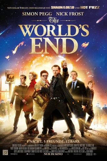 Filmplakat von The World's End
