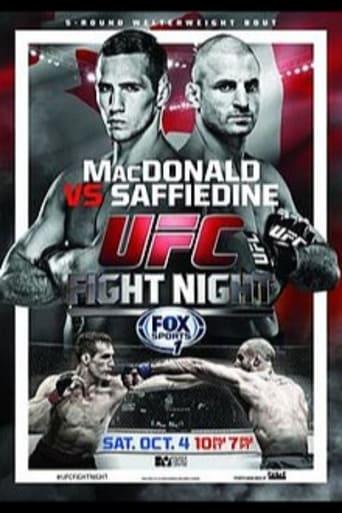 Poster of UFC Fight Night 54: MacDonald vs. Saffiedine