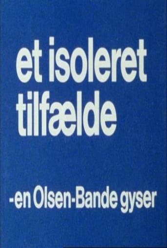 Olsen Banden Et Isoleret Tilfælde