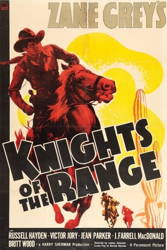 Poster of Knights of the Range