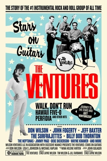 Poster of The Ventures: Stars on Guitars