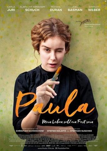 Filmplakat von Paula