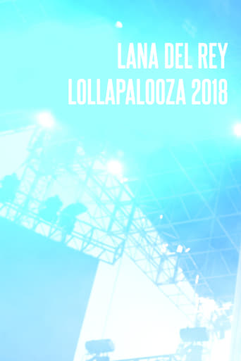 Poster of Lana Del Rey - Lollapalooza 2018