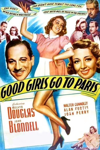 Poster of Good Girls Go to Paris