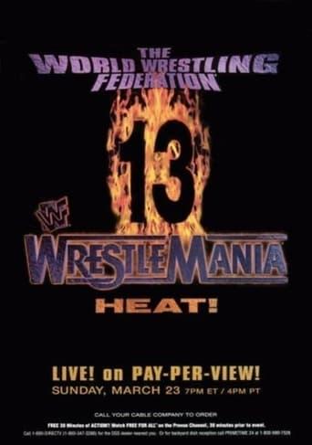 Poster of WWE WrestleMania 13