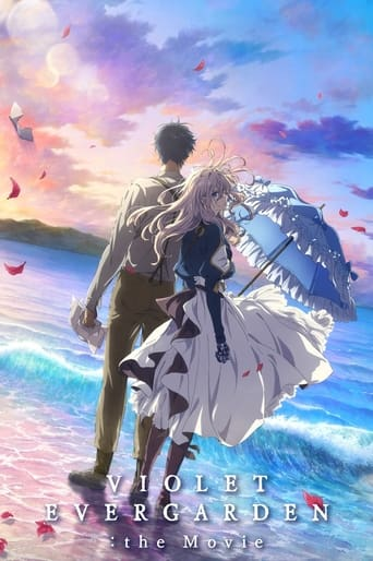 Poster of Violet Evergarden: The Movie