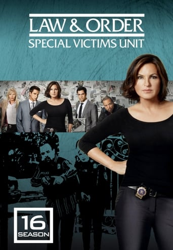 How old was Mariska Hargitay in season 16 of Law & Order: Special Victims Unit