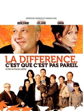 Poster of La différence, c'est que c'est pas pareil