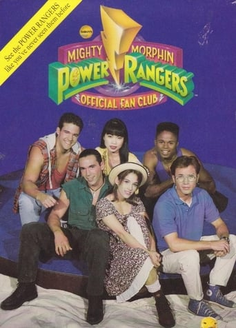 Poster of Mighty Morphin Power Rangers Official Fan Club Video
