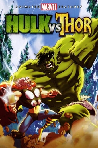 Poster of Hulk vs. Thor