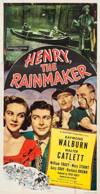 Poster of Henry, the Rainmaker
