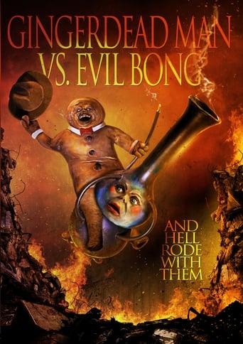 Poster of Gingerdead Man vs. Evil Bong