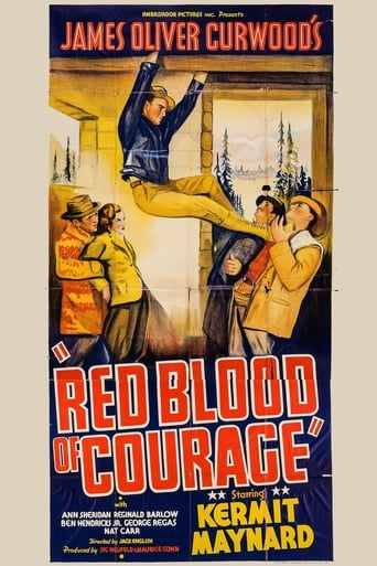 Poster of The Red Blood of Courage