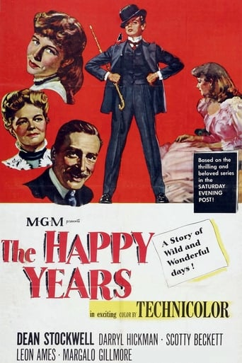 Poster of The Happy Years