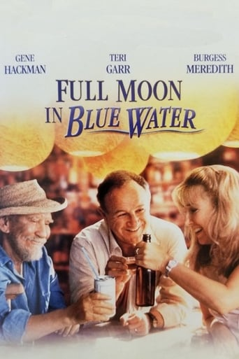 Poster of Full Moon in Blue Water