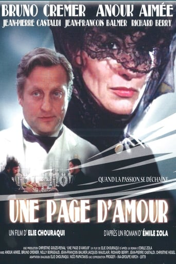 Poster of Une Page d'amour