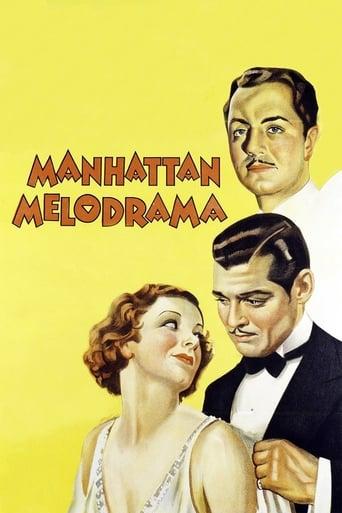 Poster of Manhattan Melodrama