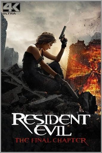 Filmplakat von Resident Evil: The Final Chapter