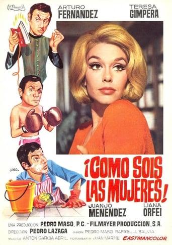Poster of ¡Cómo sois las mujeres!