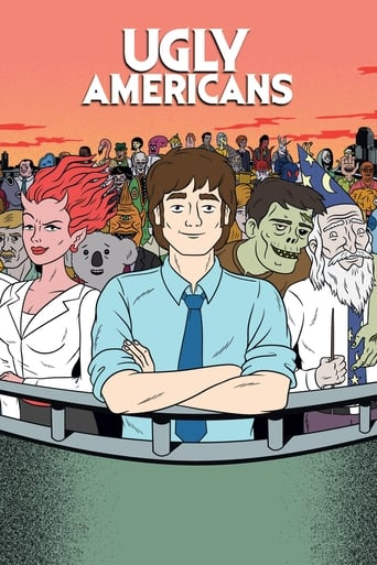 Poster of Ugly Americans