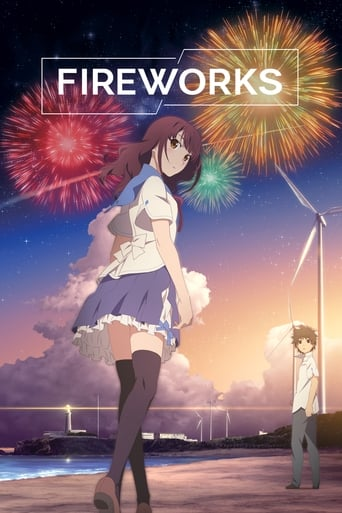 Poster of Fireworks, Should We See it from the Side or the Bottom?