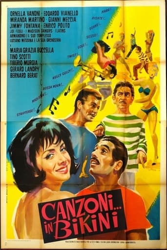 Poster of Canzoni... in bikini