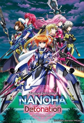 Poster of Magical Girl Lyrical Nanoha: Detonation