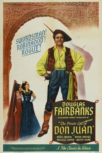 Poster of The Private Life of Don Juan