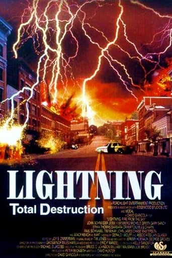 Poster of Lightning: Fire from the Sky