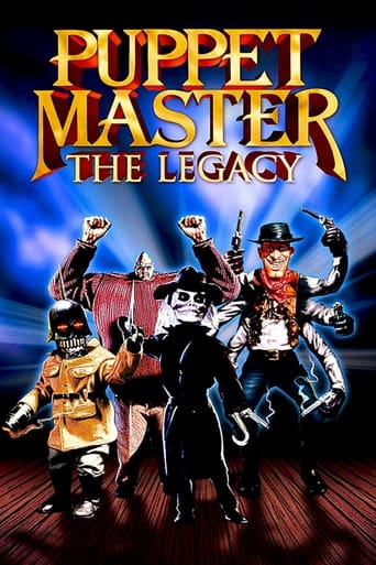 Poster of Puppet Master: The Legacy