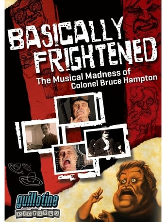Poster of Basically Frightened: The Musical Madness of Colonel Bruce Hampton
