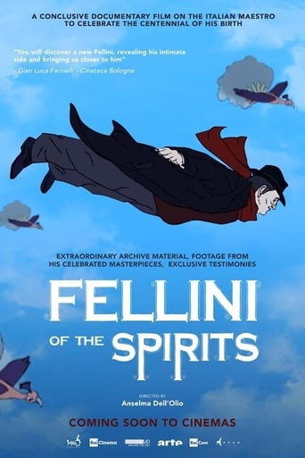 Poster of Fellini of the Spirits