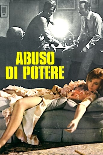 Poster of Abuso di potere