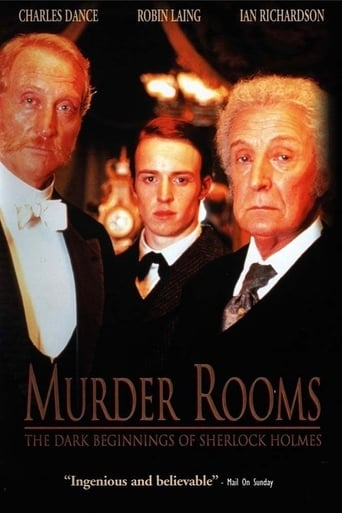 Poster of Murder Rooms: The Dark Beginnings of Sherlock Holmes