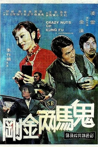 Poster of Crazy Nuts of Kung Fu