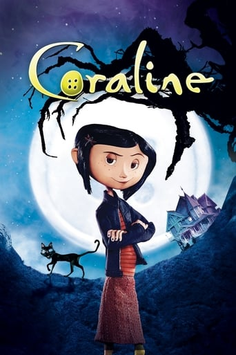Poster of Coraline