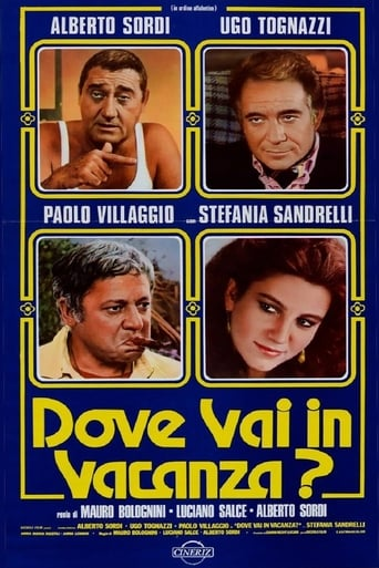 Poster of Dove vai in vacanza?