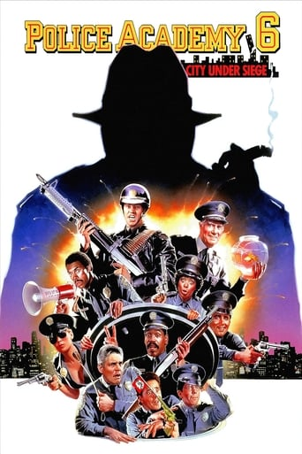 Poster of Police Academy 6: City Under Siege