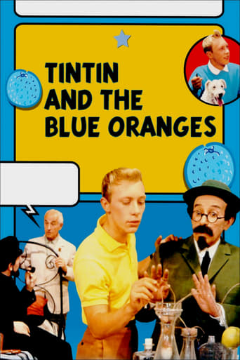 Poster of Tintin and the Blue Oranges