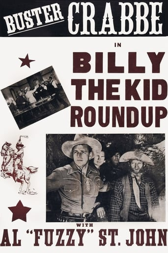 Poster of Billy The Kid's Round-Up