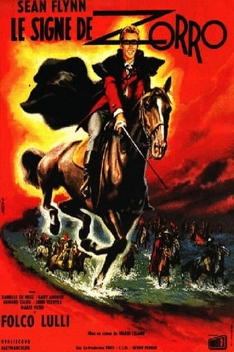 Poster of Sign of Zorro