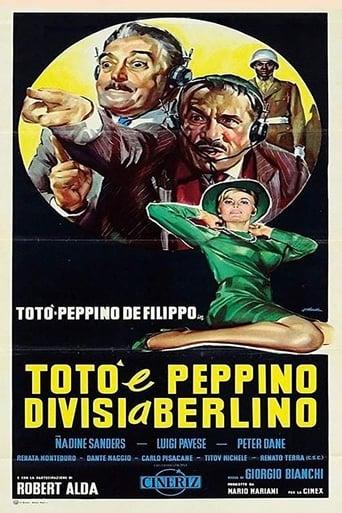Poster of Totò e Peppino divisi a Berlino