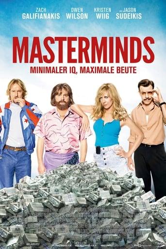 Filmposter von Masterminds