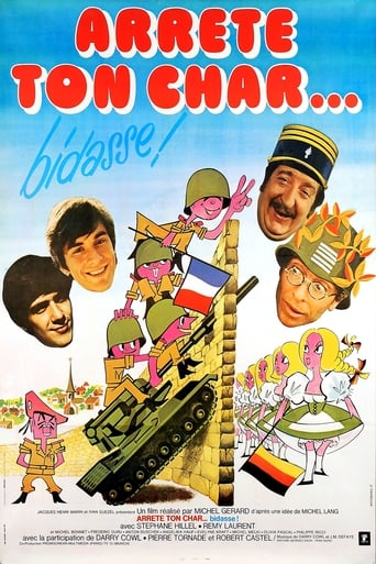 Poster of Arrête ton char...bidasse !