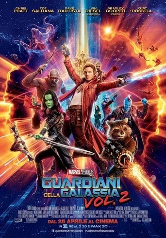 Poster of Guardiani della Galassia Vol. 2
