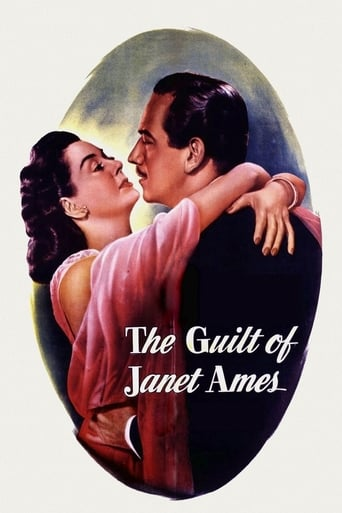 Poster of The Guilt of Janet Ames
